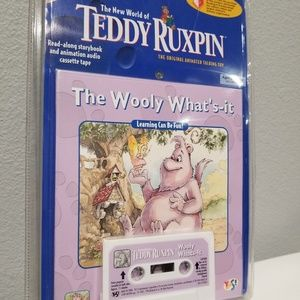 NEW 1998 TEDDY RUXPIN, THE WOOLY WHAT'S IT TAPE